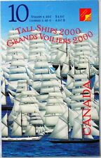 CANADA TALL SHIPS 2000 booklet of 10 46¢  MNH