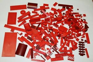 Lego Red Lot Pieces - 340 grams Assorted Mixed Parts Blocks