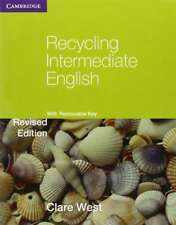 Recycling Intermediate English with Removable Key (Georgian Press), West, Clare,