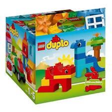 NEW LEGO Duplo Creative Building Cube 10575 Storage Box Tub 75pc Bricks Blocks
