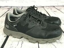 TIMBERLAND Pro Powertrain Alloy Safety Toe Work Shoes ESD BLACK Men's Size 13 M