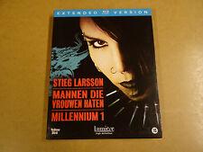 EXTENDED BLU-RAY VERSION / MILLENNIUM 1 -MANNEN DIE VROUWEN HATEN(STIEG LARSSON)