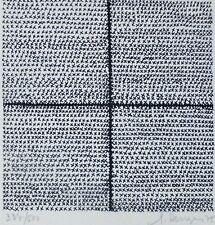 Gilbert Herreyns COMPOSITION 1975 HAND SIGNED LITHOGRAPH BELGIUM ARTIST