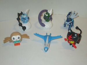 McDonalds Happy Meal Toys Pokemon Mixed Years Lot Of 6 Pieces Dailga Litten Etc