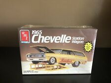 AMT/ERTL 1:25 SCALE 1965 CHEVELLE STATION WAGON 4'N1 OPEN BOX BRAND NEW