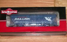 INTERMOUNTAIN 47037-20 ACF 4650 3-BAY COVERED HOPPER MONTANA RAIL LINK MRL 50011