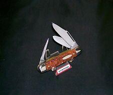 """Ulster 47 Harness Jack Knife USA Made Bonite Handles 3-3/8"""" Circa-1950's Rare"""