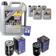 9 L Liqui Moly 5W-40 OLIO MOTORE + sct-filter CITROËN JUMPER Bus 230P 1.9 D 2.5