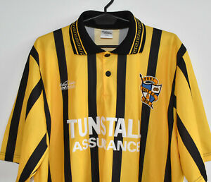 PORT VALE away vintage VALIANT LEISURE shirt trikot jersey maglia 1996-97 size L