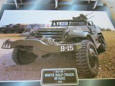 Super Trucks Militär LKW USA White Half Track M16A2