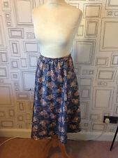 Secretary/Geek Polyester 1970s Vintage Skirts for Women
