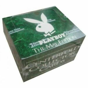 Playboy The MAY Edition Factory Sealed Trading Card Box 36 Packets