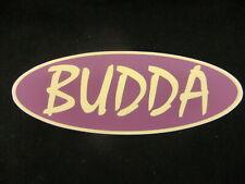 BUDDA ELECTRIC GUITAR AMP DECAL CASE BUMPER STICKER BUDDA PEAVEY NICE NEW RARE