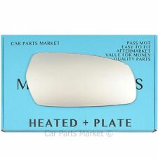 Right side Flat Wing door mirror glass for Kia Magentis 2006-2010 heated + plate