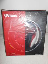 Oblanc OG-AUD63046 NC3 On-Ear Stereo Headphone with In-line Microphone Red/White