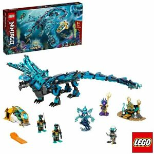 LEGO Ninjago Plastic Construction Set Water Dragon - Model 71754 (9+ Years)