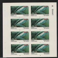 1995 CANADA  Salmon Conservation Fishing Stamp Sheet  NCSC-7