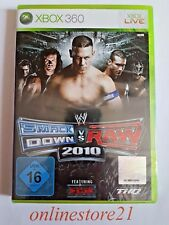 WWE SmackDown vs. Raw 2010 (Microsoft Xbox 360, 2009, DVD-Box)