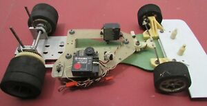 Vintage Associated RC300... 1/8 Scale on road car.. RC 300 2WD comes with servos