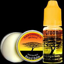 Acacia Grooming Co. | Beard Oil + Balm | Ourika River 10ml | Marrakesh 15ml