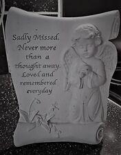 Angel Grave Memorial, Art & Crafts, Latex Mould, Sadly Missed