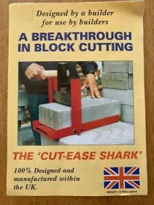 Block Splitter / Brick Cutter / Paving Slab Splitter - save time and money!