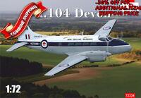 "Amodel 72334 Airplane DH-104 Devon ""New Zealand Warbirds"" plastic model kit 1/72"