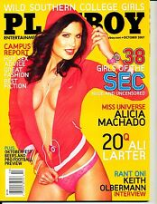 """""""PLAYBOY""""  (10-PAGES / COLLEGE GIRLS)  ~ OCTOBER 2007 ~  *** VINTAGE ISSUE ***"""