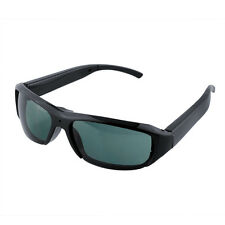 Camcorder Glasses Spy Hidden Video Camera Surveillance Digital Sunglasses Black