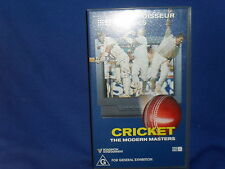 CRICKET - THE MODERN MASTERS - VHS VIDEO