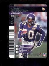 2002 NFL Showdown CRIS CARTER Minnesota Vikings Card