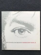 Michael Jackson You Rock My World CD 3 Titres 2001