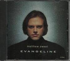 MATTHEW SWEET Evangeline RARE RADIO PROMO DJ CD single 1992