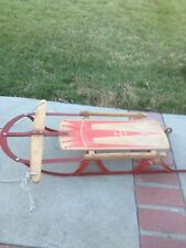 Vintage Crest King  JET Snow  Sled