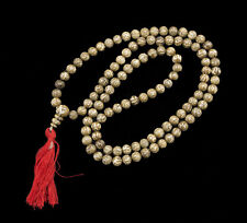 Mala tibétain Collier Perles en Nacre de coquillage Om Mani Padme Hum Ø6mm 26014
