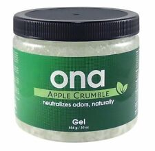 Ona Gel 1L Apple Crumble Tub - Odour Neutralizer - Professional Odour Control
