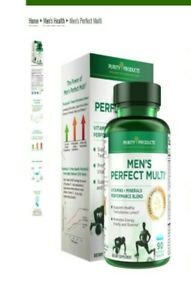 Men's Perfect Multi from Purity Products VitaminsMineralsPhytonutrients 90Tabs