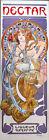 Alphonse Mucha Art Nouveau Liqueur Nectar Poster Art 63 x 21-1/4