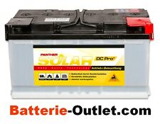 Solarbatterie Versorgerbatterie Beleuchtungsbatterie Panther 12V 100Ah 95602