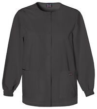 Cherokee Workwear 4350 Scrub Warm up Jacket for Women Black S