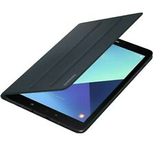 """Genuine Samsung Galaxy Tab S3 9.7"""" Book Cover Magnetic Standing Case - Black"""