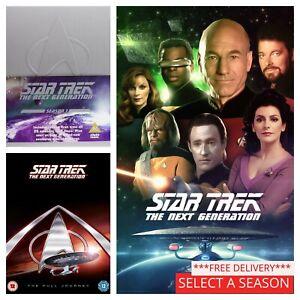 Star Trek The Next Generation Season 1 2 3 4 5 6 7 DVD - Pick a Series Box Set
