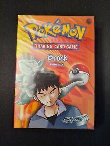 Pokemon Gym Heroes Brock Theme Deck - New and Sealed - WOTC