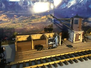 POLA LGB 330920 train coaling station g scale with water crane!