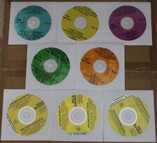 KARAOKE CD+G 8 DISC SET R&B MOTOWN Killer THE DETROIT SOUND,w/Vocal demo New!
