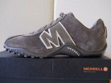 Merrell Sprint Blast Leather grigio sneaker uomo 100%Pelle scarpe n43 UK8.5 €140