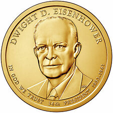 2015-D  DWIGHT D. EISENHOWER  PRESIDENTIAL DOLLAR COIN