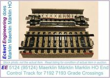 EE 5124 95124 LN Marklin End Control Track for M Track Grade Crossings 7192 7193