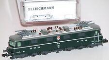 """Fleischmann N 931681-1 locomotora eléctrica Ae 6/6 Obwalden SBB """"Analógico"""