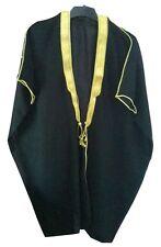 Kids Niños Negro bisht Cloak árabe Vestido Thobe el Islam para hombre CHILDS Eid mashlah